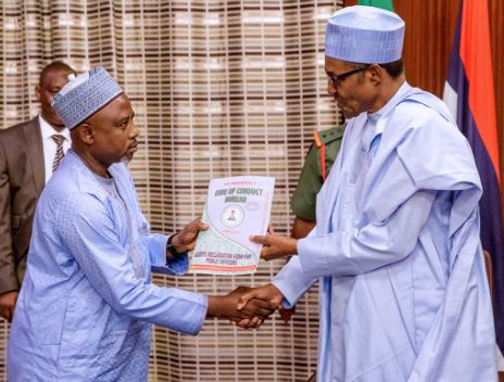 Hidimar Rantsar da Muhammadu Buhari